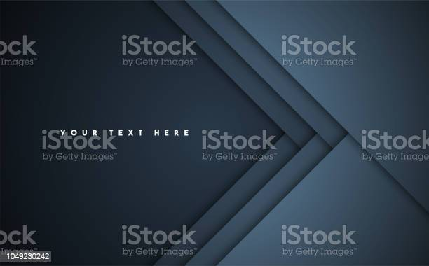 Dark Abstract Vector Background - Arte vetorial de stock e mais imagens de Abstrato