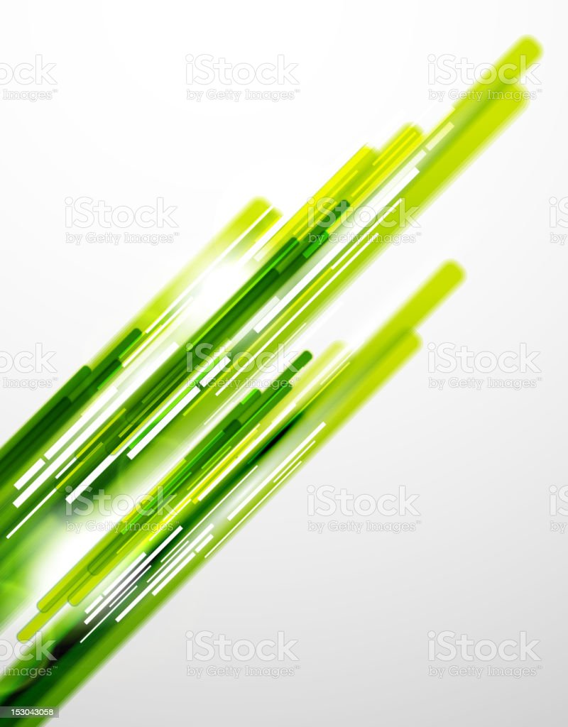 A dark and light green motion background royalty-free stock vector art