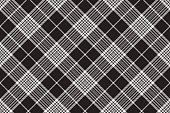 Dark background seamless fabric texture. Vector illustration.