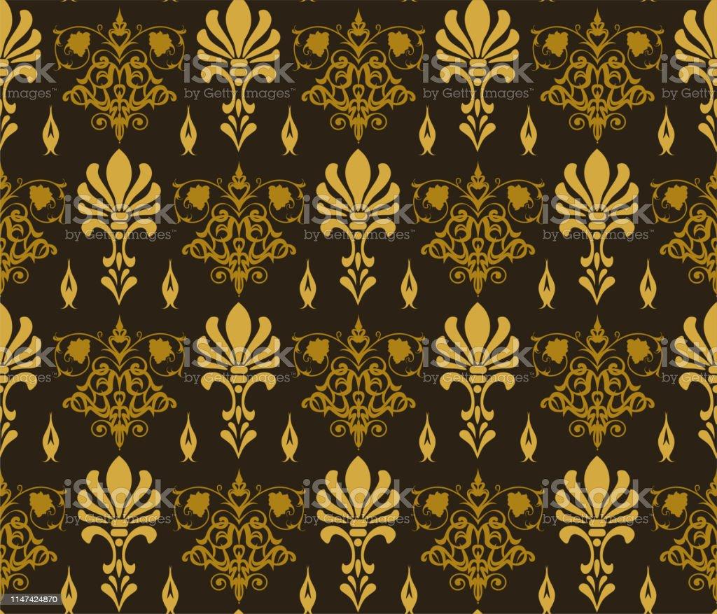 アジアのスタイルでシームレスな暗い背景の壁紙 アジア大陸のベクターアート素材や画像を多数ご用意 Istock