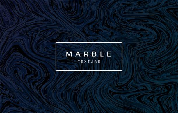 Dark blue marble background. Vector trendy texture Dark blue marble background. Vector trendy texture. dark blue stock illustrations