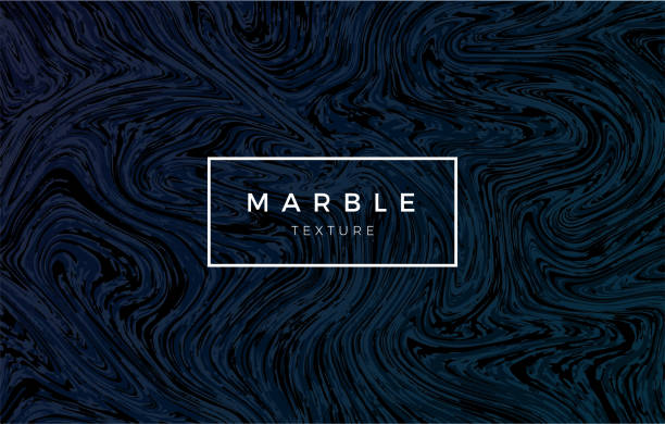 Dark blue marble background. Vector trendy texture vector art illustration
