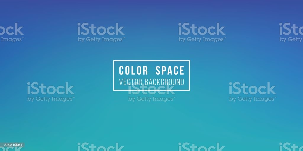 Dark Blue Soft Color Space Defocus Smooth Gradient Background vector art illustration