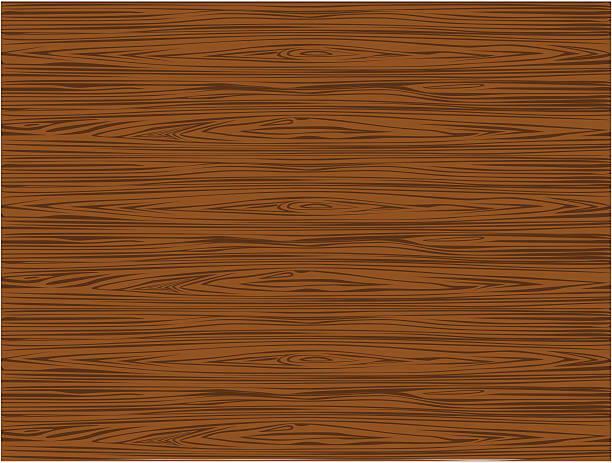 ilustrações, clipart, desenhos animados e ícones de textura de madeira marrom escura-vetor - textura de madeira