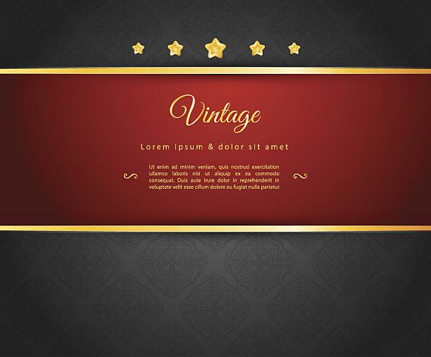 dark design template - black tie events stock illustrations, clip art, cartoons, & icons