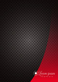 istock Dark Dots Texture Background With Elegant Red Over Design Element 1193103497