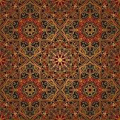 Dark, east, medieval pattern.