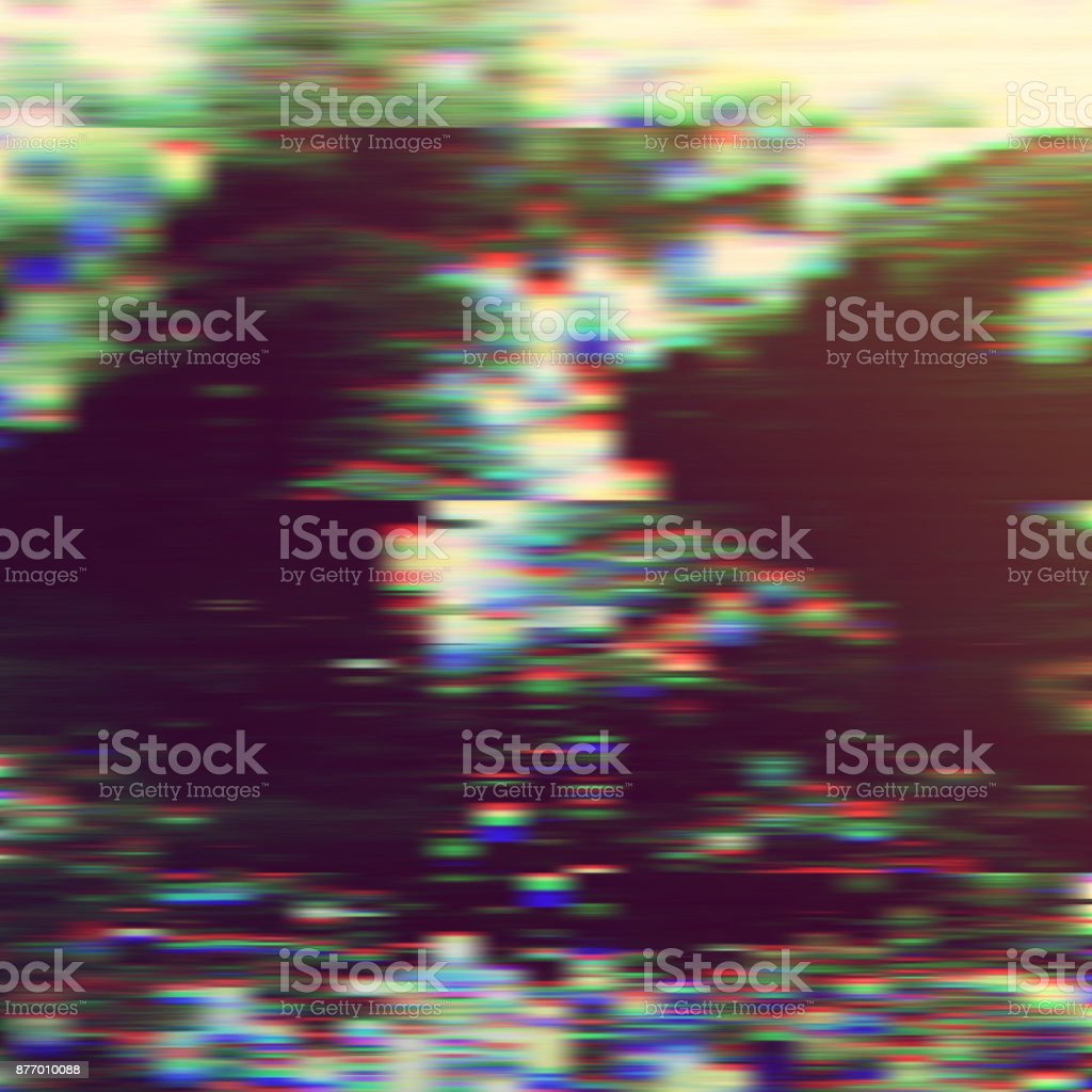 a3b24299c Dark Glitch Background Vector Illustration Black White Red Blue ...