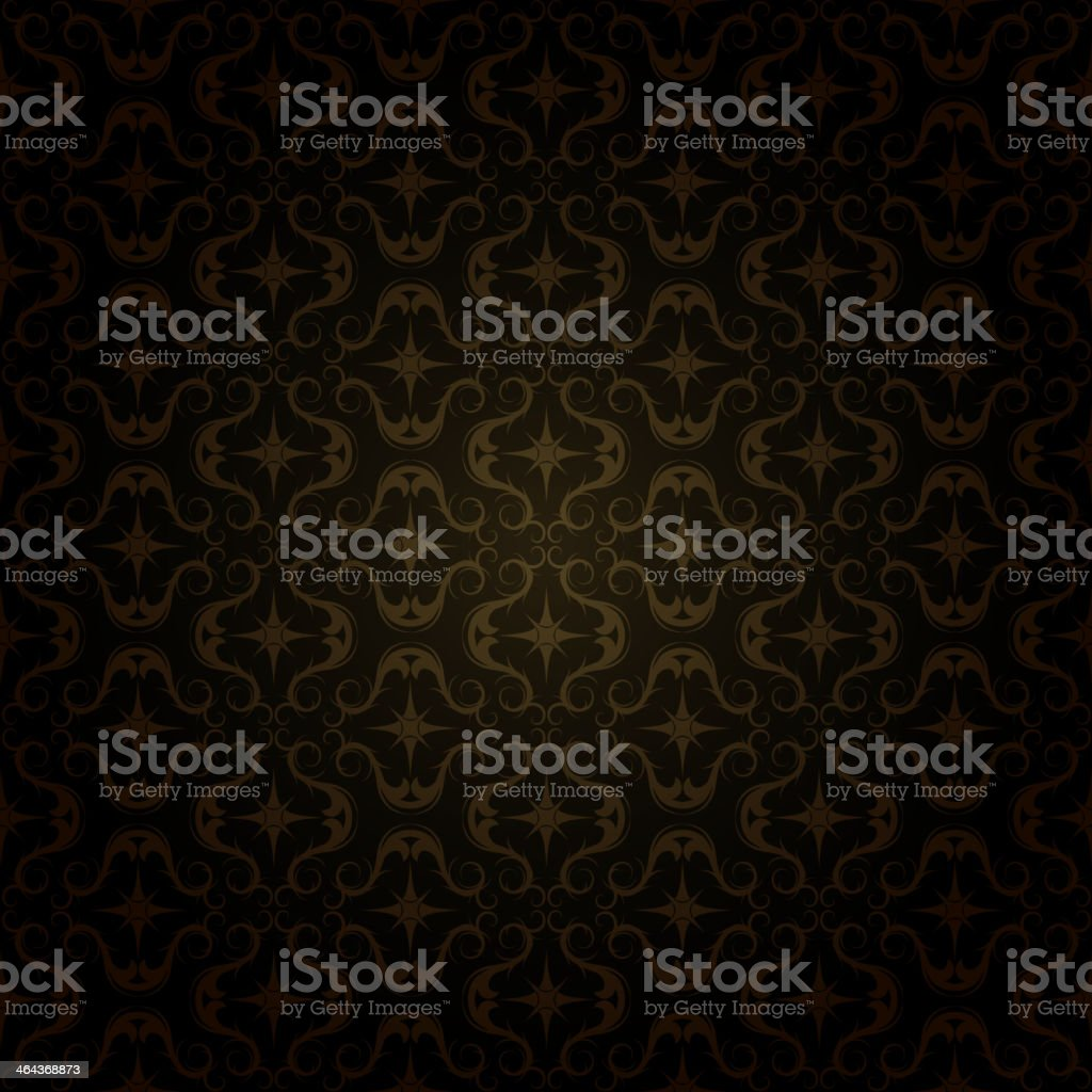 dark gold pattern vector art illustration