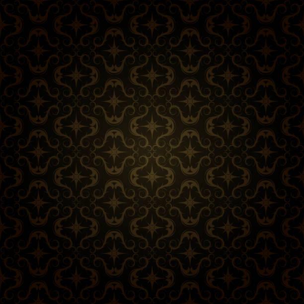 dark gold pattern vector art illustration