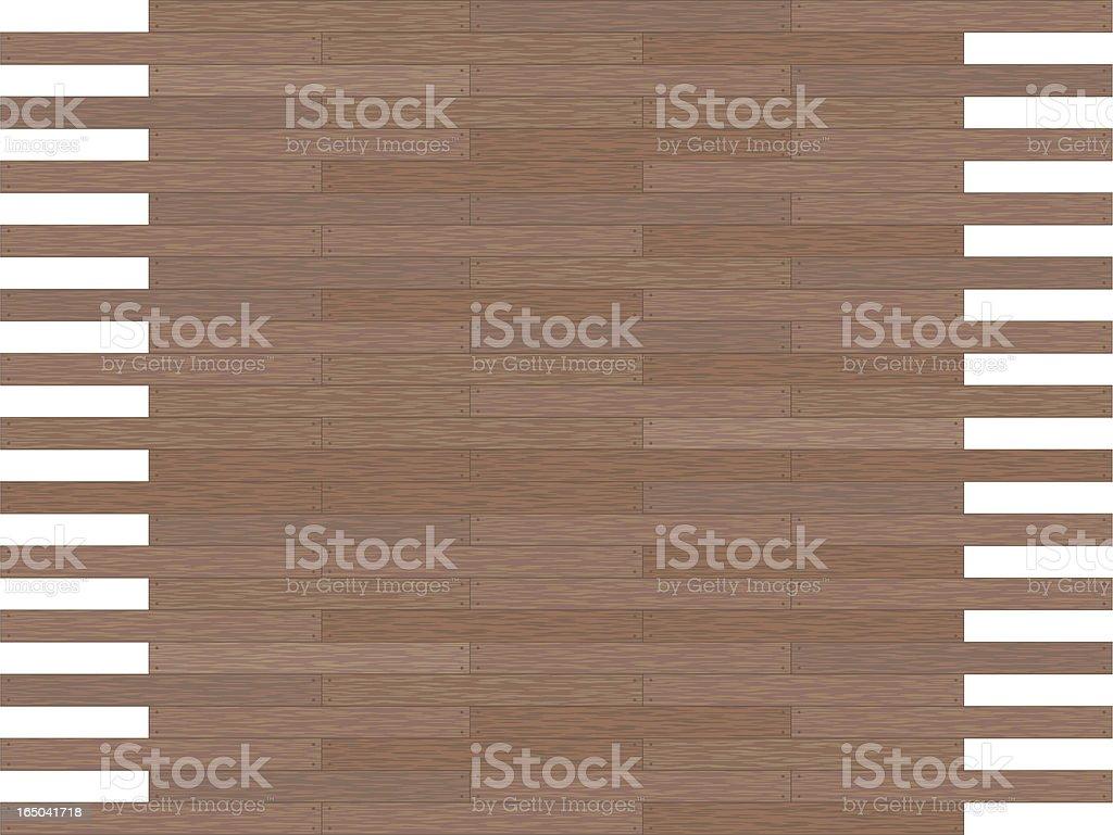 Dark grain Wood Panel royalty-free stock vector art