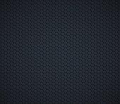 Dark gray technology hexagon honeycomb background. Vector illustration.