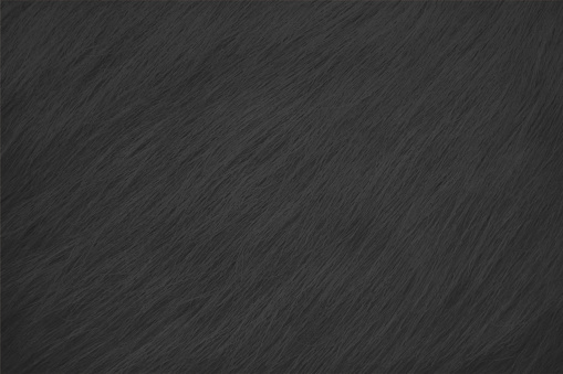 Dark grey black coloured scratched hairy textured empty blank backgrounds