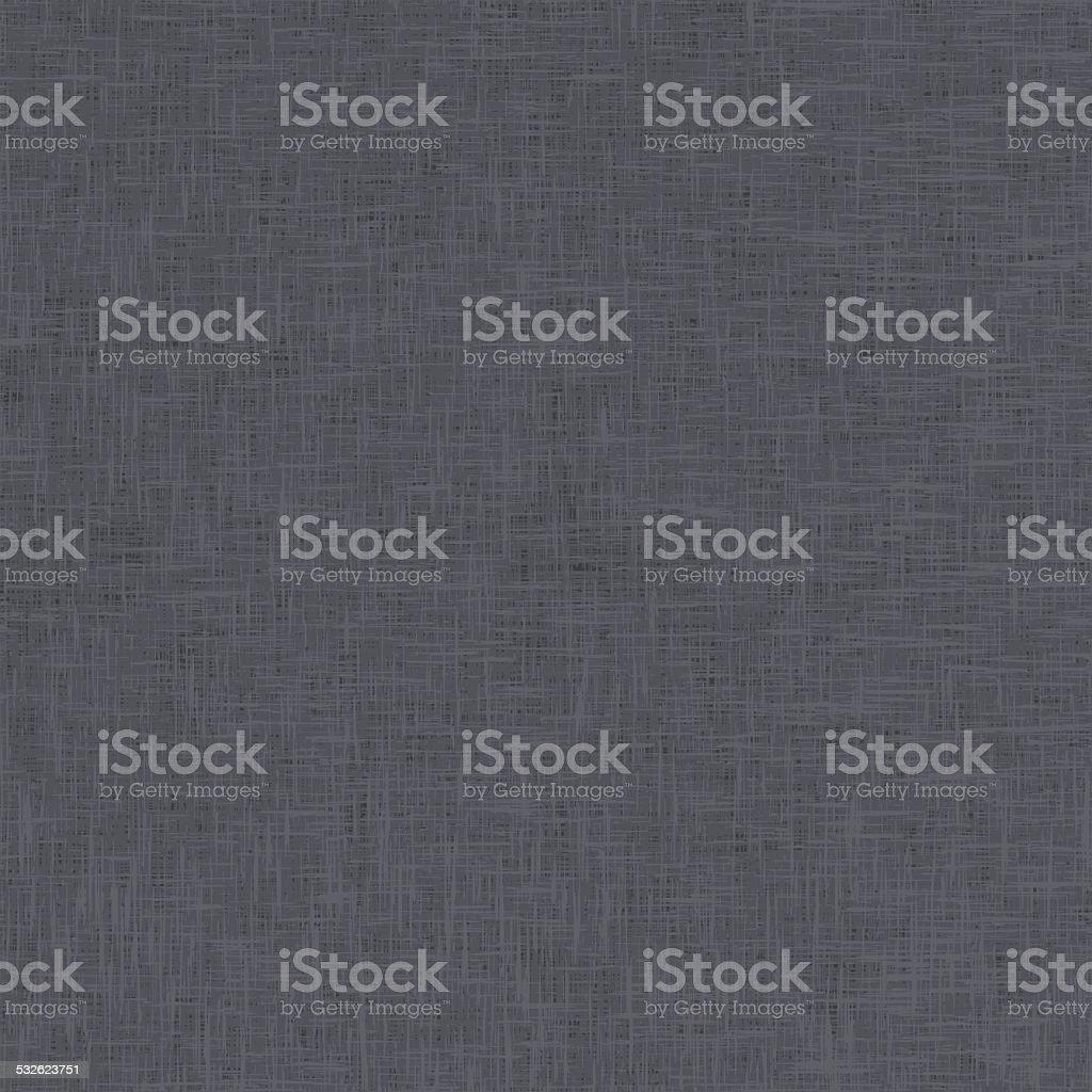 Dark Grey Linen Texture vector art illustration