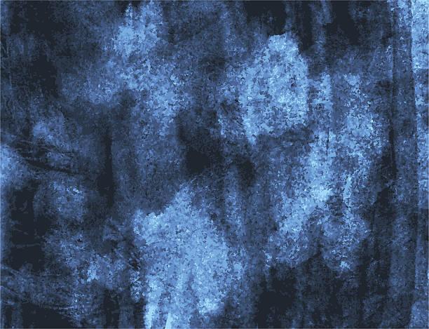 dark grunge watercolor background painting - dark blue stock illustrations