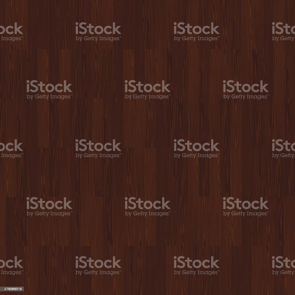 Dark Hardwood vector art illustration