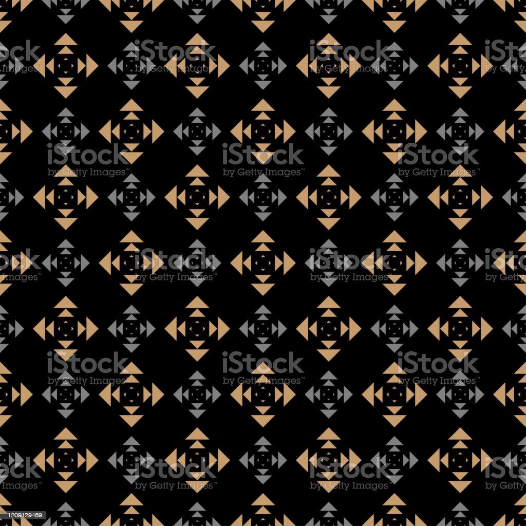 ダークモダン背景シームレスな幾何学模様テクスチャの壁紙