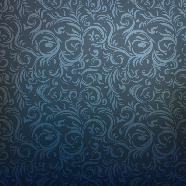 dark ornamental pattern - wzory i tła stock illustrations