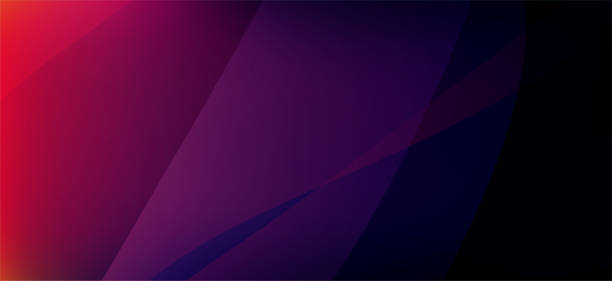 dark purple abstract technology background - abstract background stock illustrations