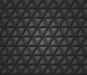 Dark Vector illustration with a Pyramid seamless texture.