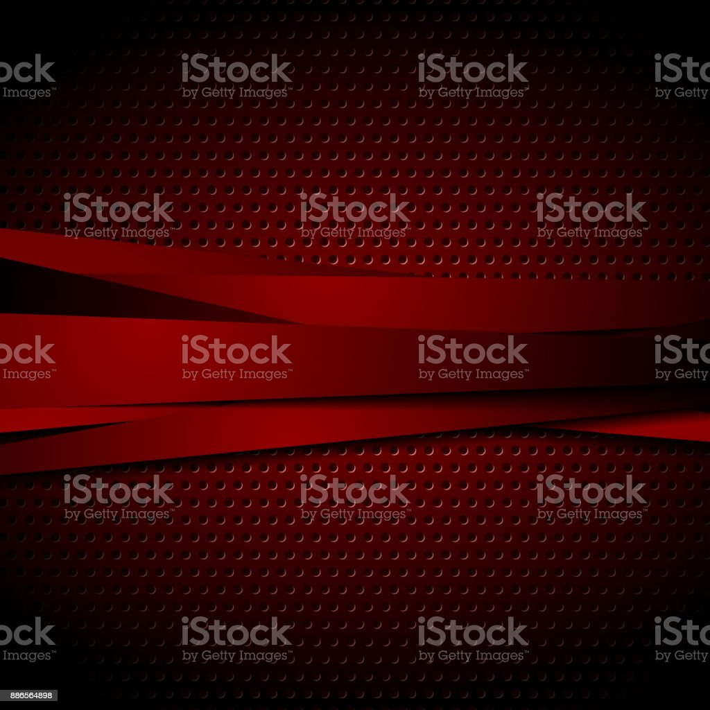 Dark red abstract striped vector background vector art illustration