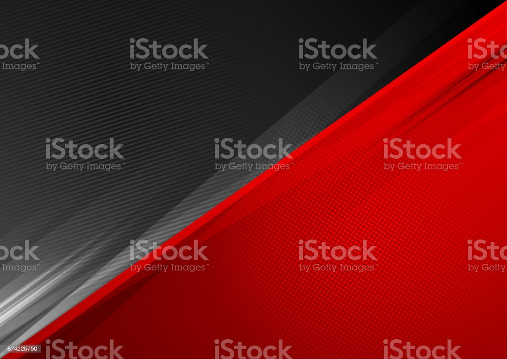 Dark red abstract stripes background vector art illustration