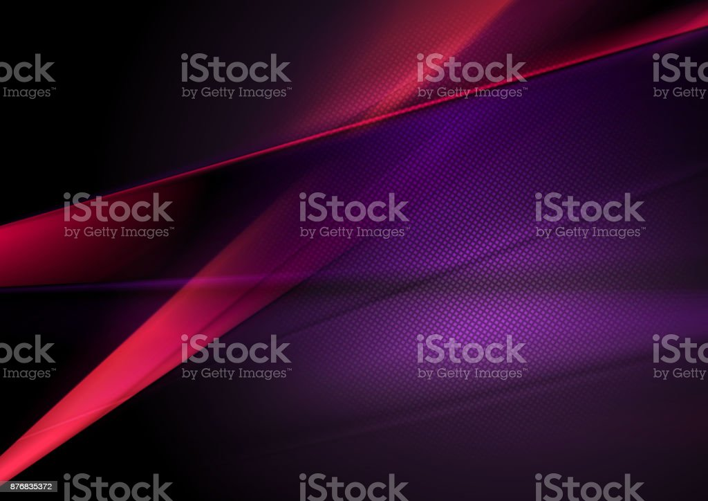 Dark red and purple abstract shiny background vector art illustration