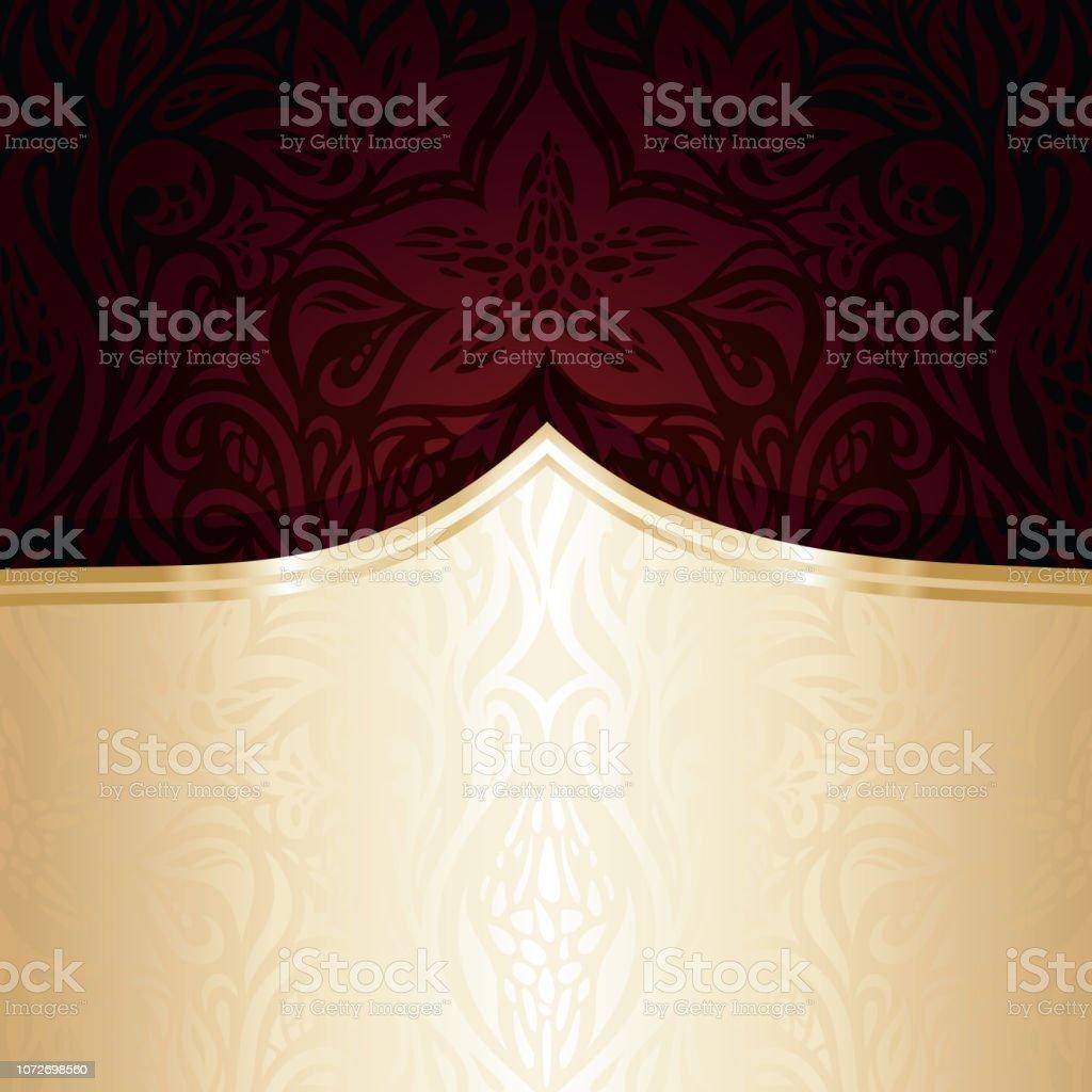 Dark red brown wallpaper vector design background векторная иллюстрация