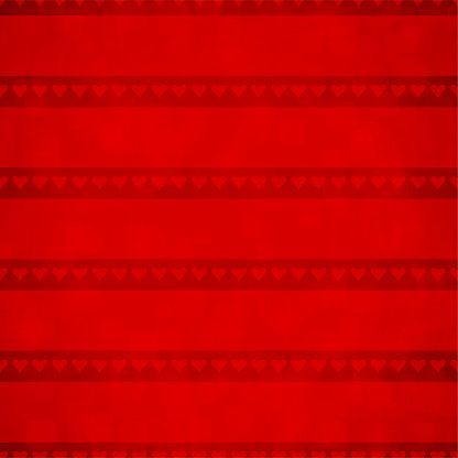 Dark red grunge Backgrounds with a rows of small hearts on a slightly dark backdrop