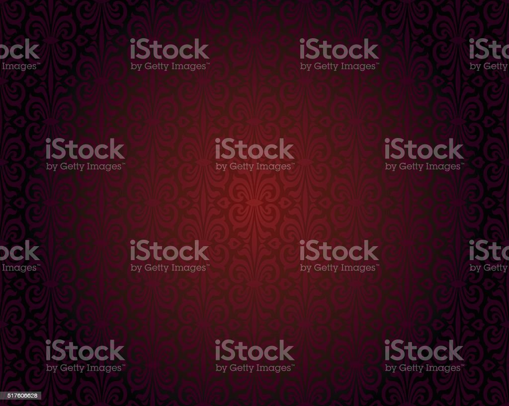 Dark red wallpaper repitable gradient vector background vector art illustration