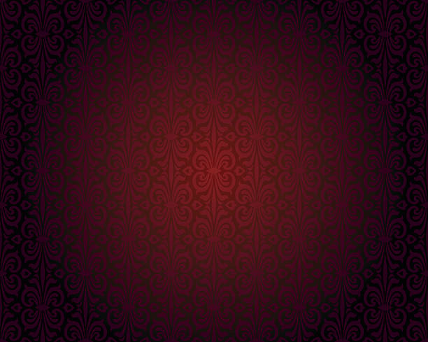 Dark red wallpaper repitable gradient vector background vector art illustration
