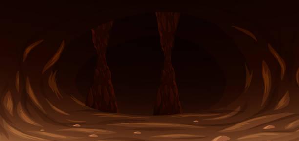 洞窟 イラスト素材 Istock
