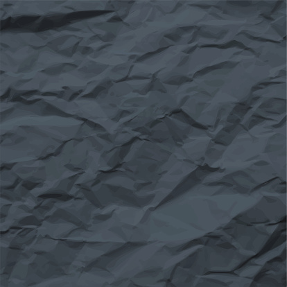 Dark Texture of Crumpled Paper