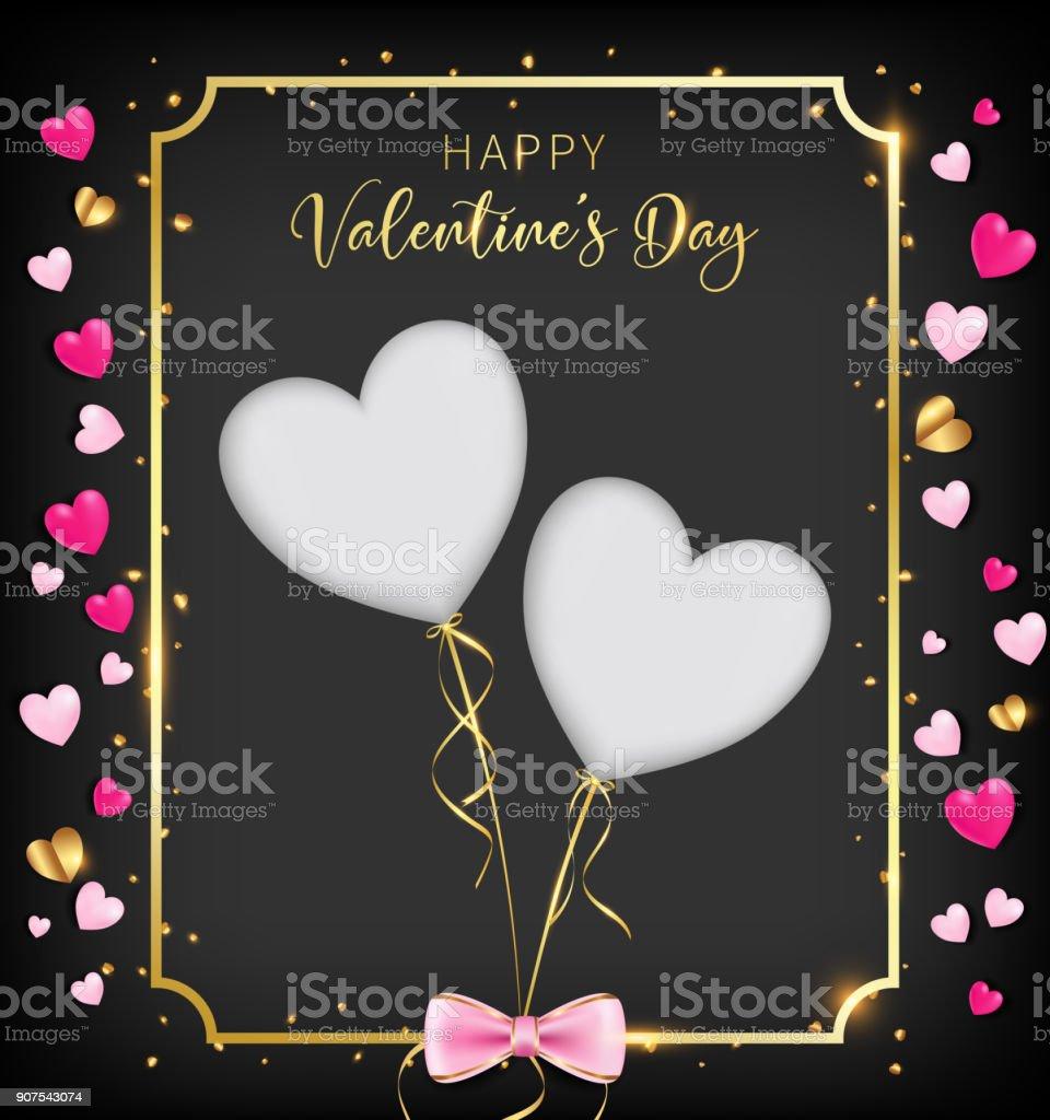 dark valentine day banner