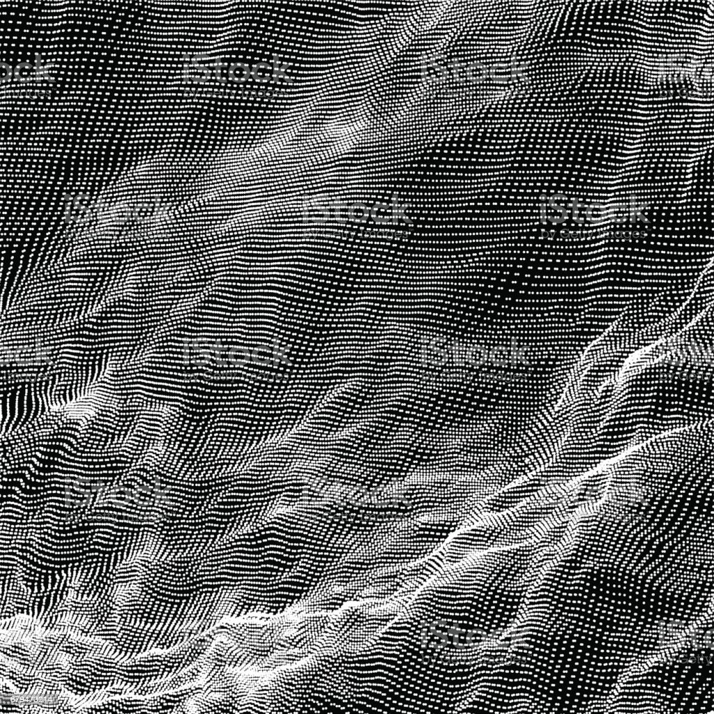 Dark vector texture. Spotted abstract background. Connection structure. Vector illustration. 免版稅 dark vector texture spotted abstract background connection structure vector illustration 向量插圖及更多 connect the dots - 英文諺語 圖片