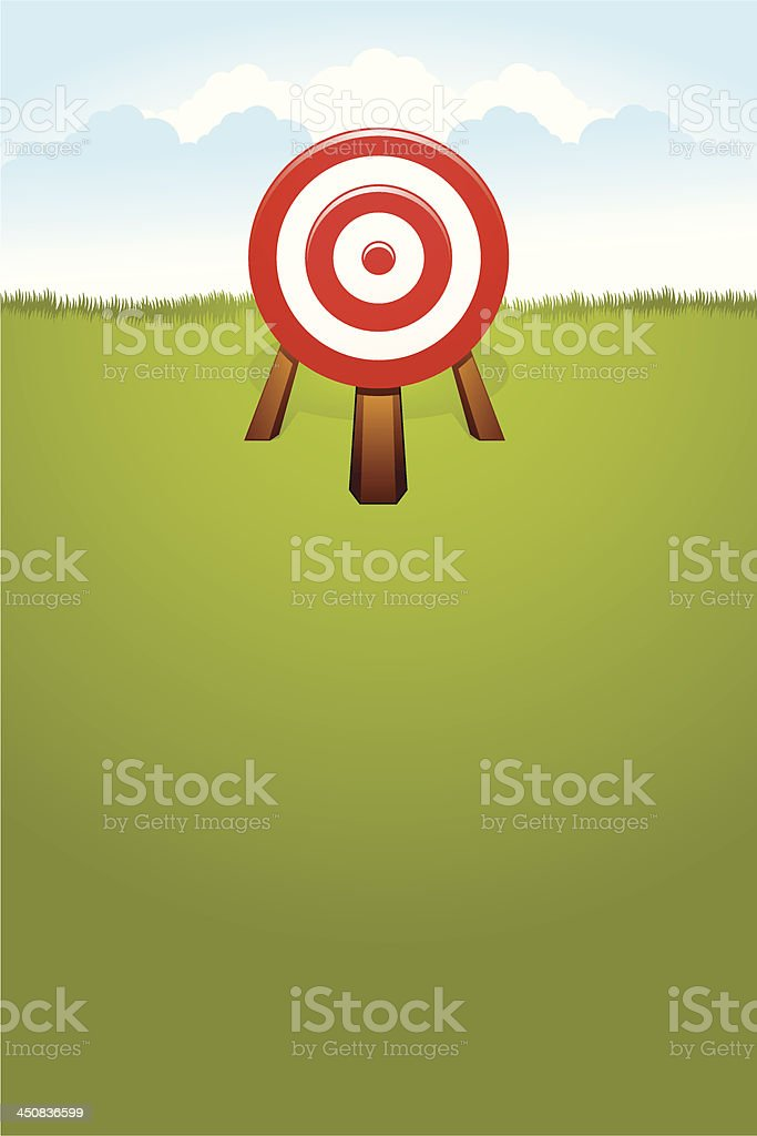 Dart on the Field royalty-free dart on the field stock vector art & more images of abstract