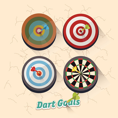 921518946 istock photo dartboard collection for darts game - vector illustration 469201680