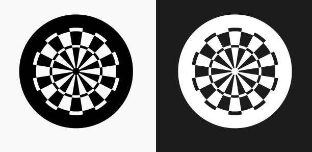 Royalty Free Dartboard Clip Art Vector Images Illustrations Istock