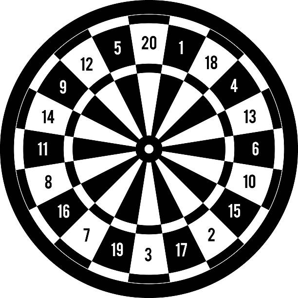 Agile image throughout printable dart board