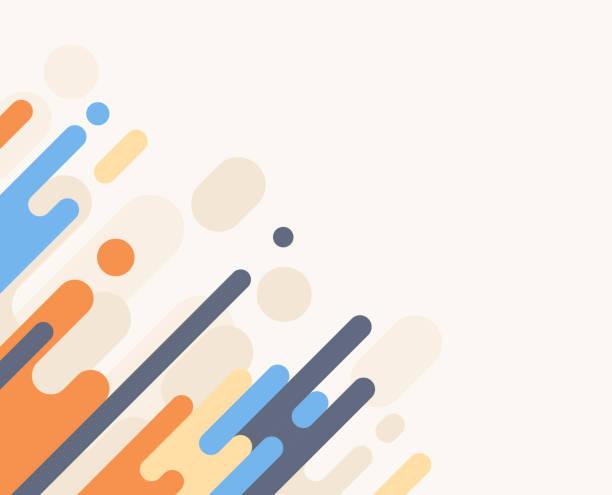 illustrazioni stock, clip art, cartoni animati e icone di tendenza di dash abstract background - beige