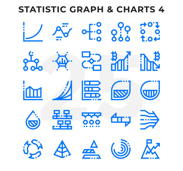 Dashed Outline Icons Pack for UI. Editable Stroke. Pixel perfect thin line vector icon set for web design and website application. vector art illustration