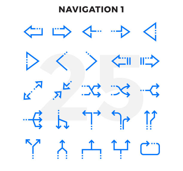 Dashed Outline Icons Pack for UI. Pixel perfect thin line vector icon set for web design and website application. Dashed Outline Icons Pack for UI. Pixel perfect thin line vector icon set for web design and website application. changing form stock illustrations