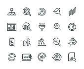 Data Analysis Icon Set