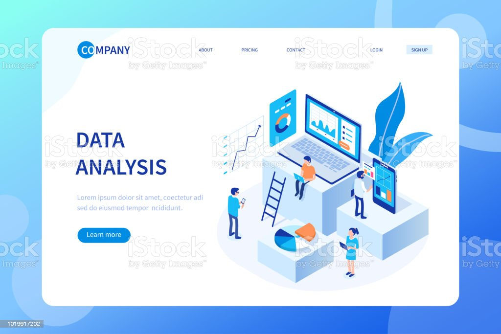data analysis royalty-free data analysis stock illustration - download image now