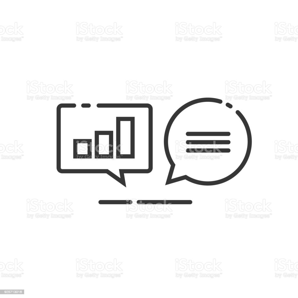 Data analytics vector icon line outline analyzing information data analytics vector icon line outline analyzing information statistics chat search optimization investigation ccuart Images