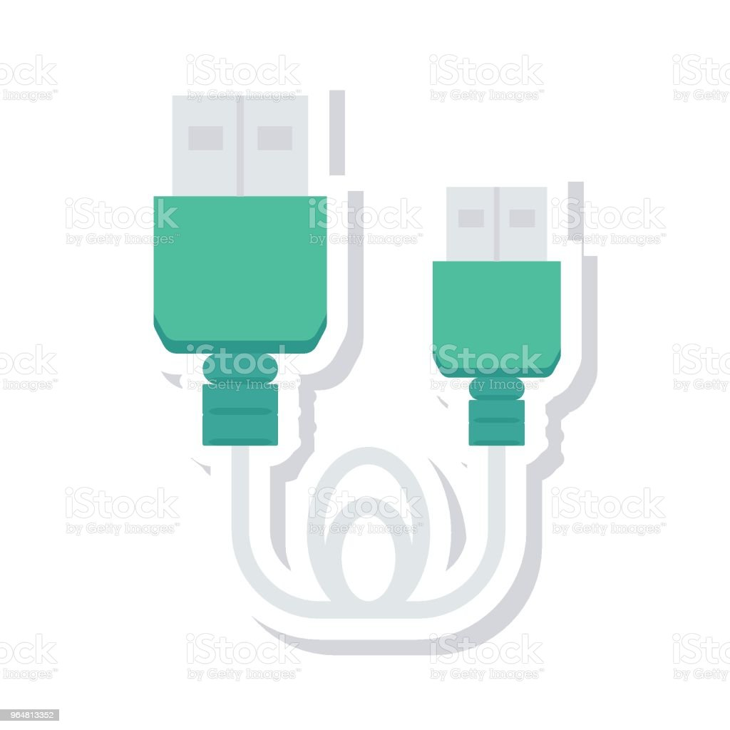 data cable royalty-free data cable stock vector art & more images of backgrounds