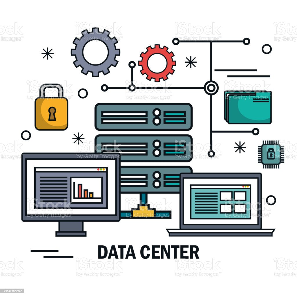 data center server technology digital isolated royalty-free data center server technology digital isolated stock vector art & more images of accessibility