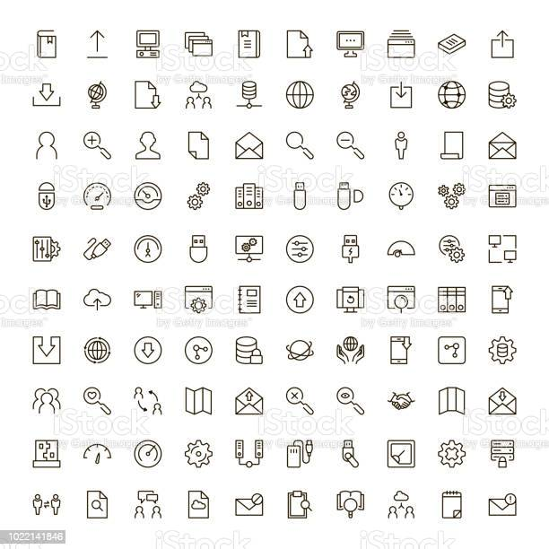 Data exchange icon set vector id1022141846?b=1&k=6&m=1022141846&s=612x612&h=lqg7a jxoo3va wmbji3sa4nukelwt y5w5wbume4hc=