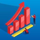 Data graph measurement