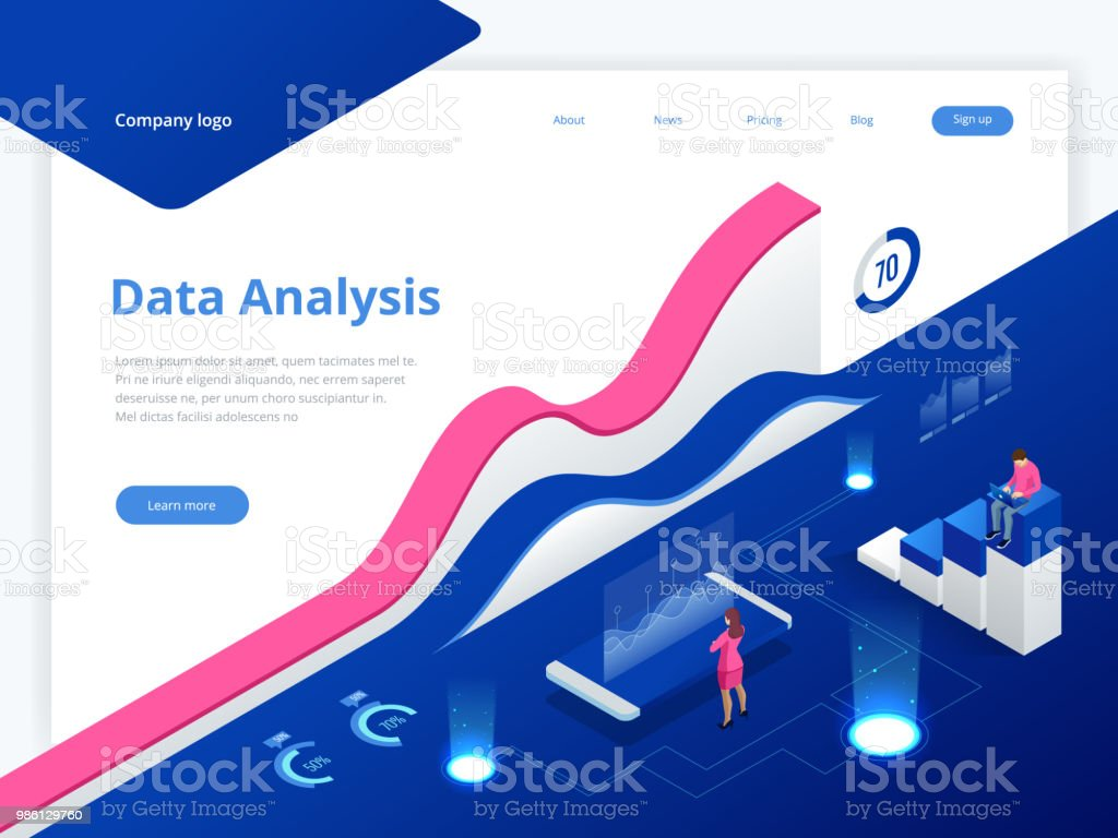 Business Analytic Banners Crash Course Banners